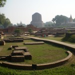 The Deer Park at Sarnath near Varanasi