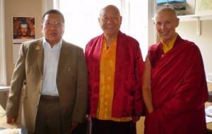 Dr Akong Tulku Rinpoche, Lama Yeshe Losal Rinpoche, Ani Rinchen Khandro
