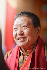 Holy Lama Akong Tulku Rinpoche