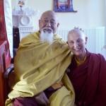 Lama Yeshe Rinpoche and Ani Rinchen Khandro
