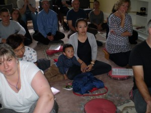 Lama Yeshe Losal Rinpoche's youngest student