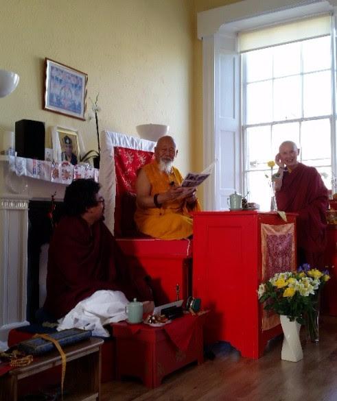 Lama Yeshe Losal Rinpoche announcement