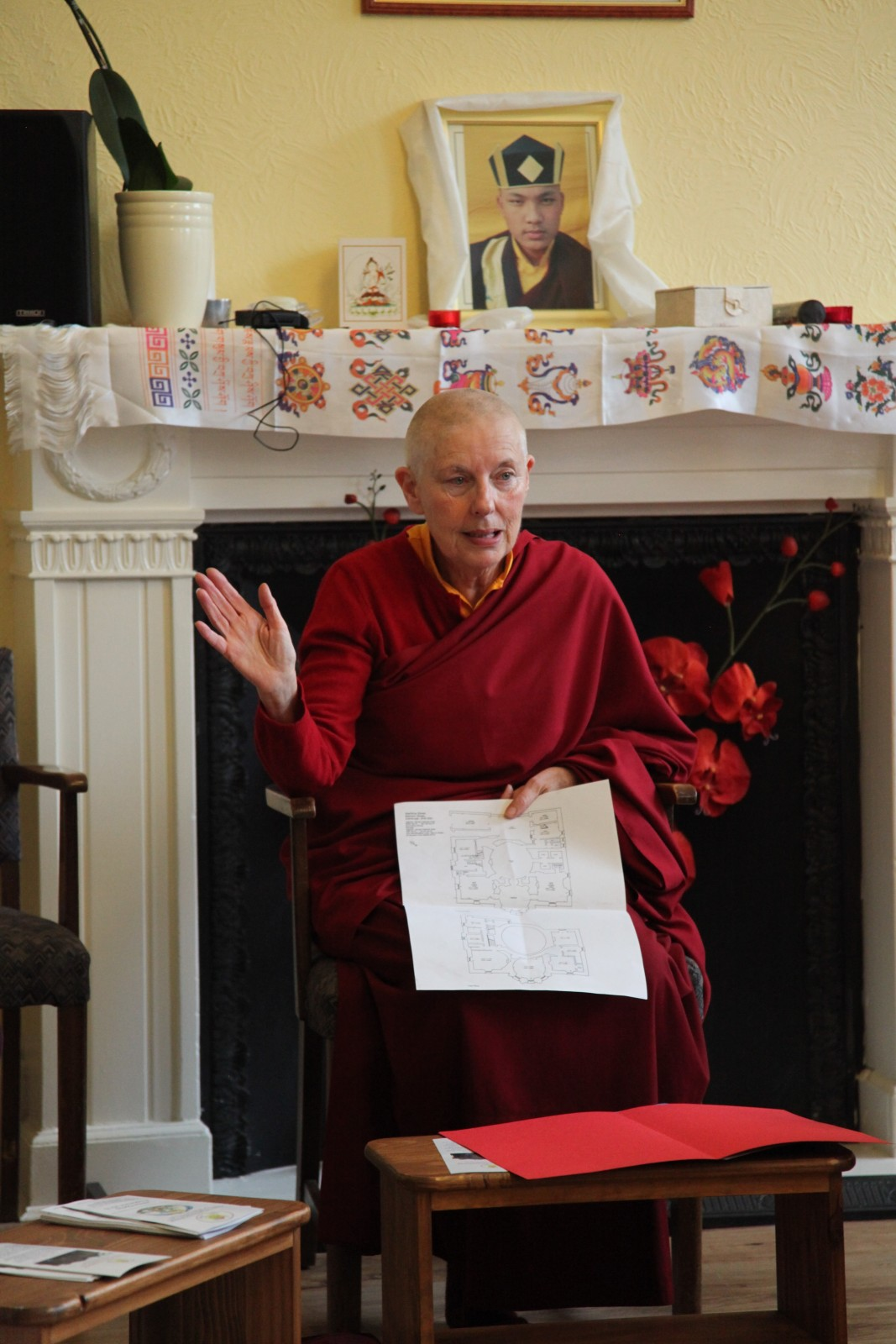 Ani Rinchen Khandro discusses plans for our new Centre