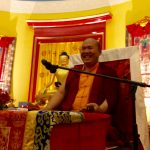 Drupon Rinpoche teaches at KSDE Leith, 2016