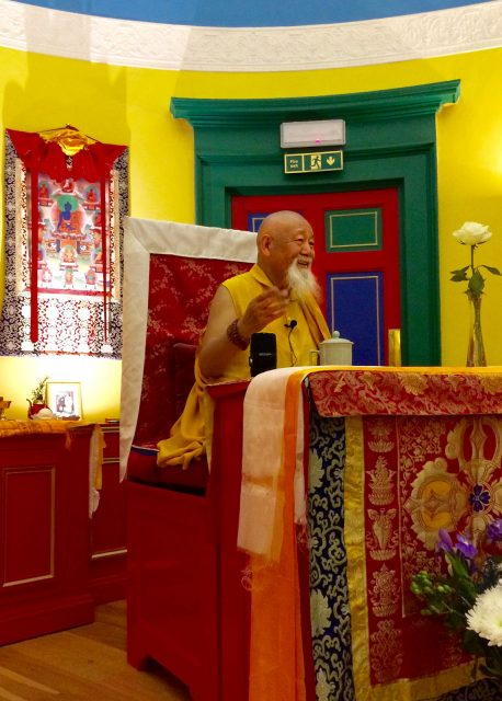 Lama Yeshe Losal Rinpoche teaches at KSDE 7th Anniversary Special Events and Celebrations
