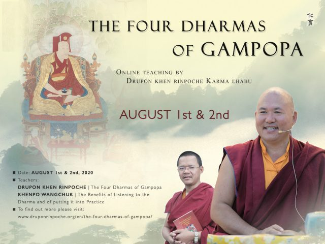 Drupon Rinpoche 2020 Teachings
